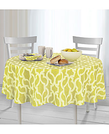"Elrene Sydney Indoor/Outdoor 70"" Round Tablecloth"
