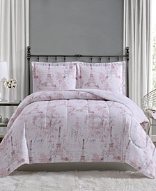 Paris 3-Pc. Comforter Mini Sets, Created for Macy's