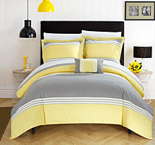 Chic Home Madison 8 Pc Queen  Duvet Set