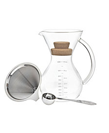 Godinger 34-Oz. Pour Over Coffee Maker