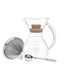 Godinger 34-Oz. Pour Over Coffee Maker