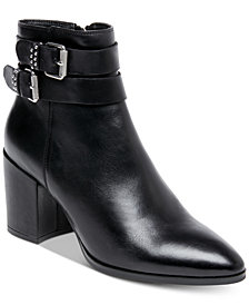 STEVEN by Steve Madden Pearle Buckle Booties