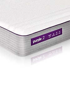 "Purple .2  11"" Firm Mattress - California King"