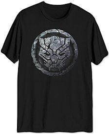 Black Panther Stone Men's Big & Tall Graphic T-Shirt