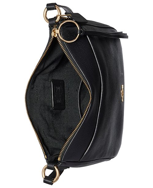 02882d4558fa43 COACH Chaise Crossbody in Polished Pebble Leather & Reviews ...