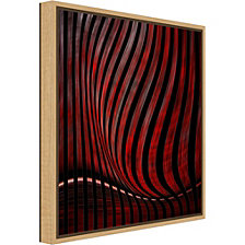 Amanti Art optic illusion by Gilbert Claes Canvas Framed Art