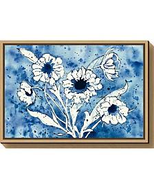 Amanti Art Batik Flowers Crop by Shirley Novak Canvas Framed Art
