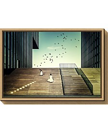 Amanti Art Free like a bird by Dennis Mohrmann Canvas Framed Art
