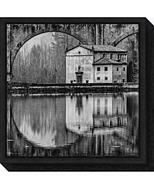 Water Architecture by Massimo Della Latta Canvas Framed Art