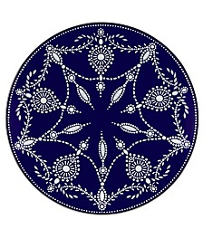 Marchesa by Lenox Dinnerware, Empire Indigo Accent Plate