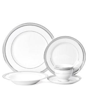 Mikasa Dinnerware, Platinum Crown 5 Piece Place Setting
