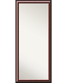 Wood 29x65 Floor-Leaner Mirror