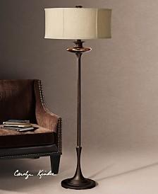 Uttermost Lahela Copper Bronze Floor Lamp