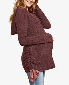 Maternity Ruched Sweater