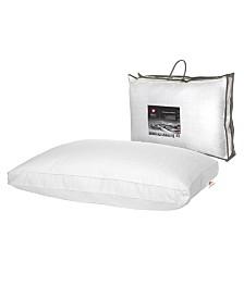 """Swiss Comforts Renaissance Gusset Soft Cotton Pillow, 20""""X30"""""""