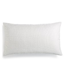 """Hotel Collection Lithos Embroidered 14"""" x 24"""" Decorative Pillow, Created for Macy's"""