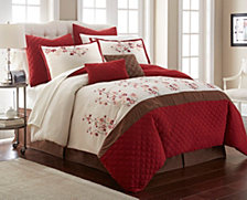 Nanshing Blossom 12-Pc. Comforter Set Collection