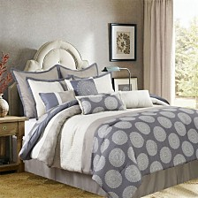 Nanshing Dante 10 PC Comforter Set, Queen