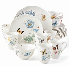 Butterfly Meadow 24-PC Dinnerware Set Service for 6, Created for Macy's