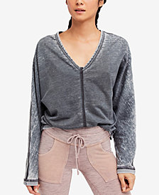 Free People Mix It Up Dolman Top