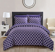 Chic Home Brooklyn Duvet Cover Sets