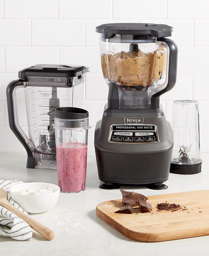 Ninja Bl770 Blender Food Processor Mega Kitchen System Reviews Small Appliances Kitchen Macy S