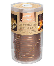 Studio Mercantile LED Copper 10ft String Lights