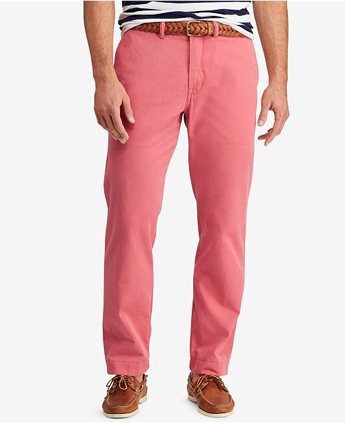 32c81057 Polo Ralph Lauren Men's Classic-Fit Bedford Chino Pants & Reviews ...
