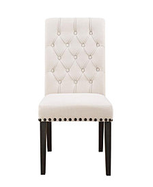 Roxy Traditional Upholstered Dining Chair