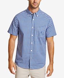 Nautica Men's Classic-Fit Stretch Plaid Shirt