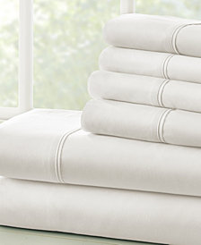 Solids in Style by The Home Collection 6 Piece Bed Sheet Set, King