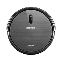 Ecovacs Deebot N79 Robotic Vacuum Cleaner with Wi-Fi & APP Control (Black) - Manufacturer Refurbished