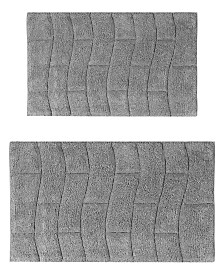 New Tile 2 Pc Cotton Bath Rug Set