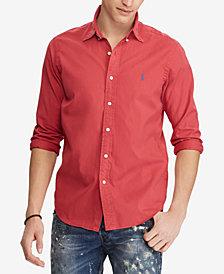 Polo Ralph Lauren Men's Big & Tall Classic Fit Oxford  Shirt