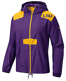 Columbia Men's LSU Tigers Flashback Windbreaker Jacket
