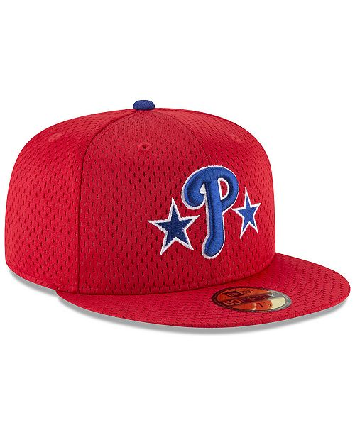 the latest 77214 045ad ... New Era Philadelphia Phillies Retro Classic Batting Practice 59FIFTY  Fitted Cap ...
