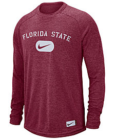 Nike Men's Florida State Seminoles Stadium Long Sleeve T-Shirt
