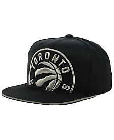 Mitchell & Ness Toronto Raptors Cropped Metallic Snapback Cap