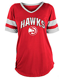 5th & Ocean Women's Atlanta Hawks Mesh T-Shirt