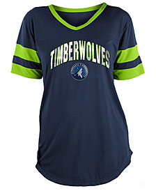 5th & Ocean Women's Minnesota Timberwolves Mesh T-Shirt