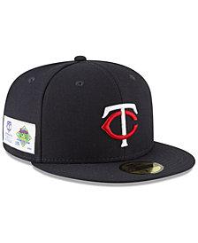 New Era Minnesota Twins Jersey Custom 59FIFTY Fitted Cap