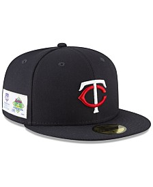 New Era Minnesota Twins Jersey Custom 59FIFTY Fitted Cap