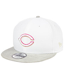 New Era Cincinnati Reds Bright Heather 9FIFTY Snapback Cap