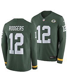 Nike Men's Aaron Rodgers Green Bay Packers Therma Jersey
