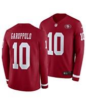Nike Men s Jimmy Garoppolo San Francisco 49ers Therma Jersey 6d6a31595