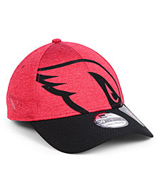 New Era Arizona Cardinals Oversized Laser Cut Logo 39THIRTY Cap