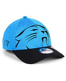 New Era Carolina Panthers Oversized Laser Cut Logo 39THIRTY Cap