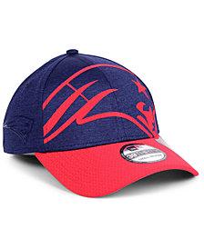 New Era New England Patriots Oversized Laser Cut Logo 39THIRTY Cap