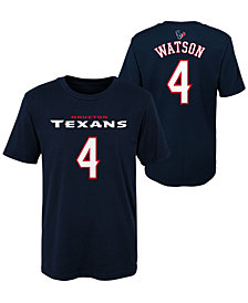 Outerstuff DeShaun Watson Houston Texans Mainliner Player T-Shirt, Little Boys (4-7)