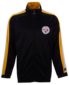 Starter Men's Pittsburgh Steelers The Challenger Track Jacket